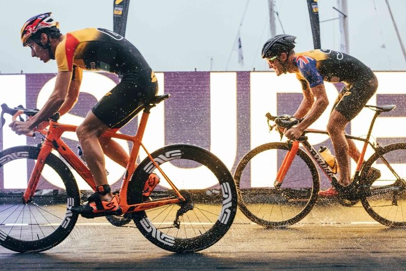 Super League Triathlon riders - Jersey