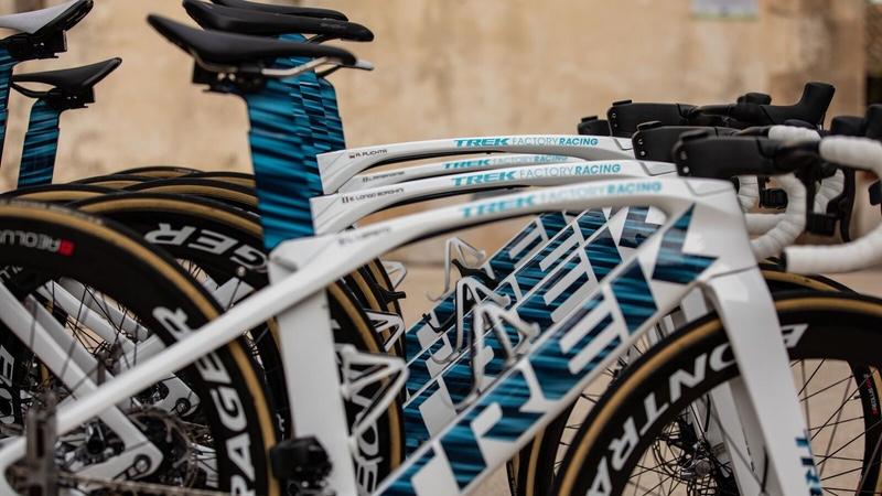 5921cca4375 Trek unveils new Trek-Segafredo paint scheme - endurancebusiness.com
