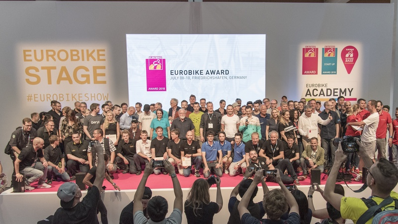 The Eurobike trade show (4-7 September 2019) is again offering young  businesses a big stage with the Eurobike Start-Up Award. bddaa86c7