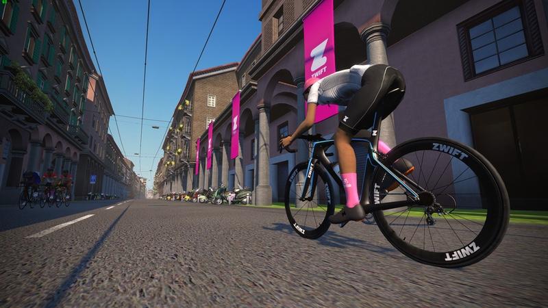New virtual Giro d'Italia prologue course on Zwift
