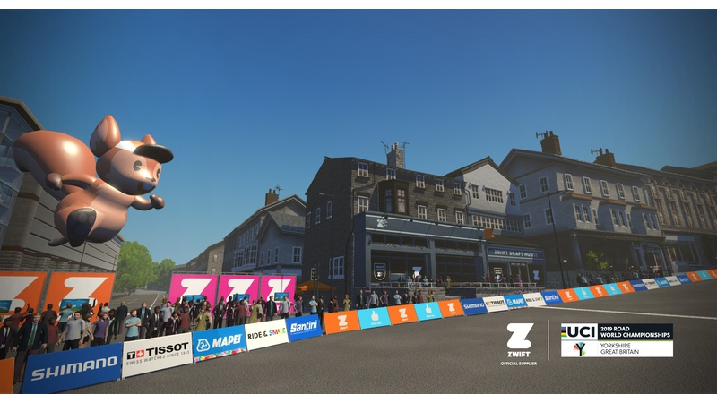 Game-on with Zwift's official UCI Road World Championships